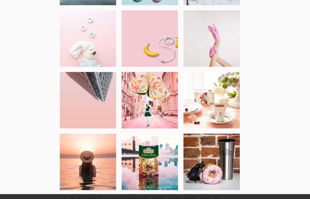 пример Instagram